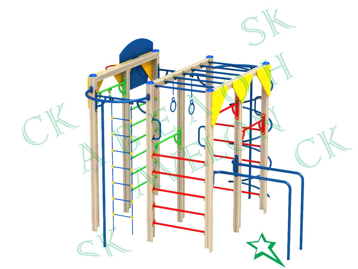 Детские спортивные сооружения своими руками